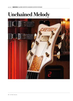Guitarist Gretsch Players Edition & Reissue Edition Guitars