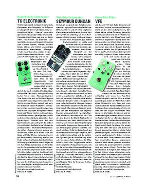 Gitarre & Bass TC Electronic HyperGravity Compressor