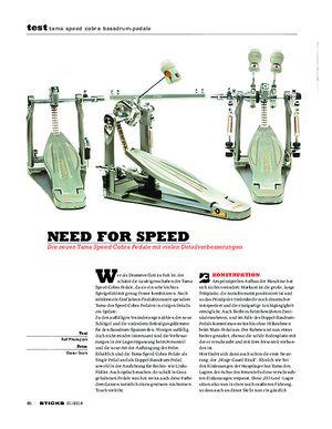 Sticks Tama Speed Cobra Bassdrum-Pedale