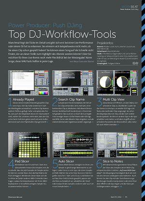 Beat Power Producer: Push DJing