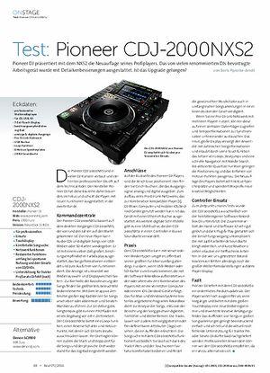 Beat Pioneer CDJ-2000NXS2