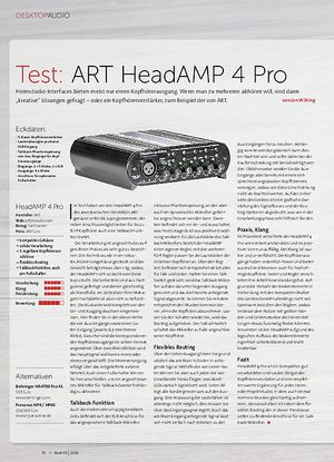 Beat ART HeadAMP 4 Pro