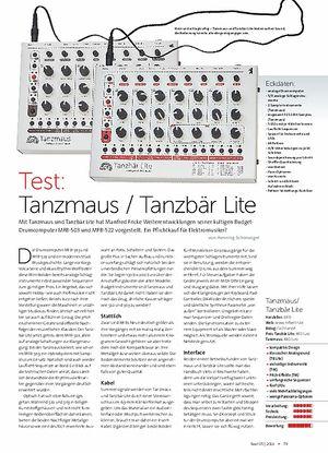 Beat Tanzmaus / Tanzbär Lite