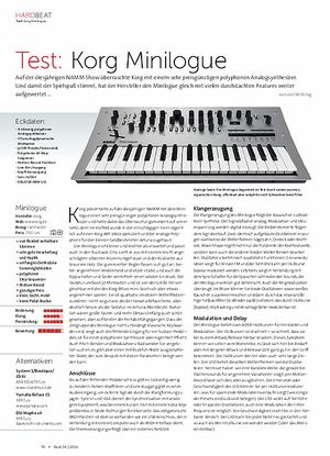 Beat Korg Minilogue