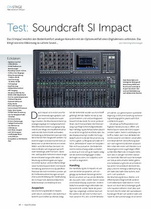 Beat Soundcraft SI Impact
