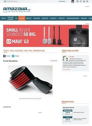 Amazona.de Test: Heil Sound The Fin, Mikrofon
