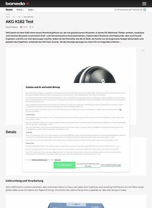 Bonedo.de AKG K182