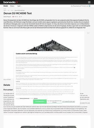 Bonedo.de Denon DJ MC4000