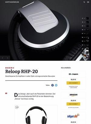 Kopfhoerer.de Reloop RHP-20