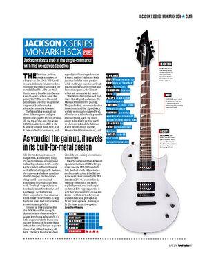 Total Guitar Jackson X Series Monarkh SCX