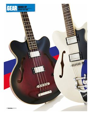 Total Guitar Höfner Verythin Range Round-Up