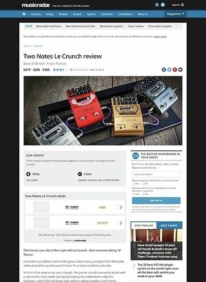 MusicRadar.com Two Notes Le Crunch