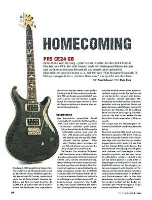 Gitarre & Bass PRS CE24 GB, E-Gitarre