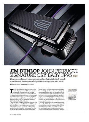 Guitarist Jim Dunlop John Petrucci Signature Cry Baby JP95