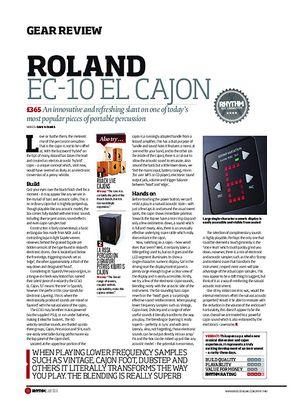 Rhythm Roland EC-10 EL Cajon