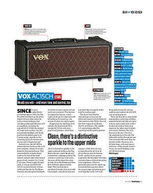 Total Guitar Vox AC15CH