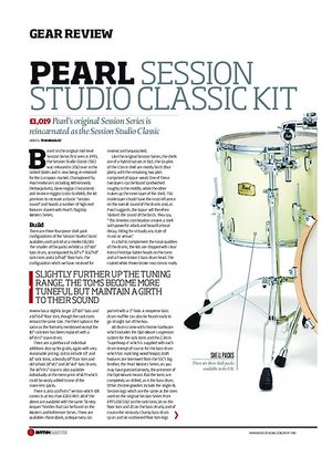 Rhythm Pearl Session Studio Classic Kit