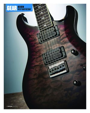 Total Guitar PRS SE Mark Holcomb