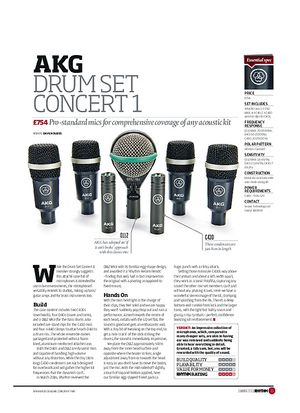 Rhythm AKG Drum Set Concert 1