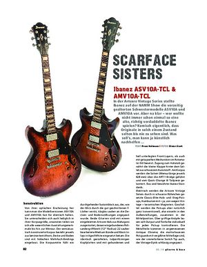Gitarre & Bass Ibanez ASV10A-TCL/AMV10A-TCL