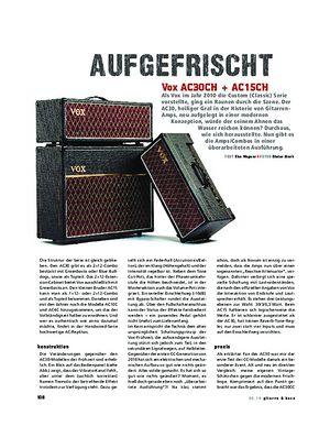 Gitarre & Bass Vox AC30CH + AC15CH