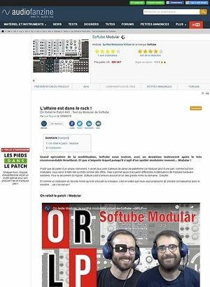 Audiofanzine.com Softube Modular