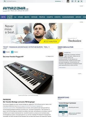 Amazona.de Test: Yamaha Montage Synthesizer, Teil 1