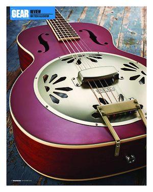 Total Guitar Gretsch G9241 Alligator Biscuit Roundneck