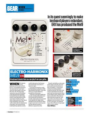 Total Guitar Electro-Harmonix Mel9
