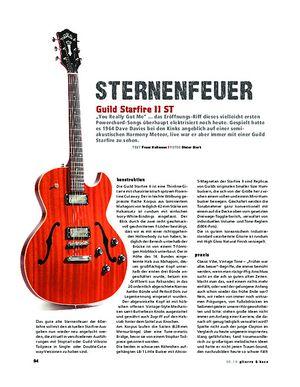 Gitarre & Bass Guild Starfire II ST, E-Gitarre