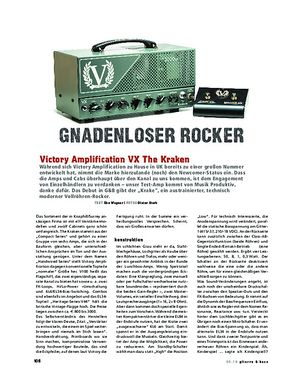 Gitarre & Bass Victory The Kraken, Tube-Head