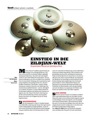 Sticks Zildjian Planet Z Cymbals