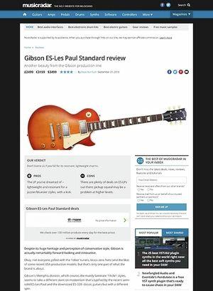 MusicRadar.com Gibson ES-Les Paul Standard