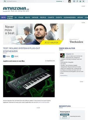 Amazona.de Test: Roland System-8, Synthesizer