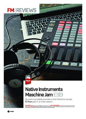 Future Music Native Instruments Maschine Jam