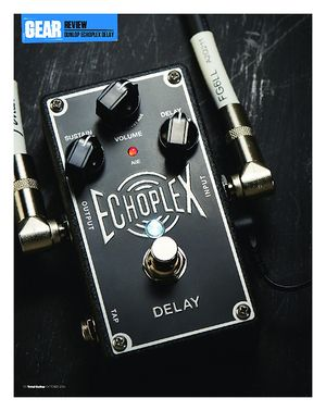 Total Guitar Dunlop Echoplex Delay