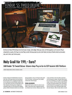 Sound & Recording UAD Fender '55 Tweed Deluxe - Gitarren-Amp-Plug-in für die DSP-basierte UAD-Plattform