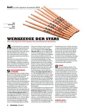 Sticks Vic Firth Signature Drumsticks 2016
