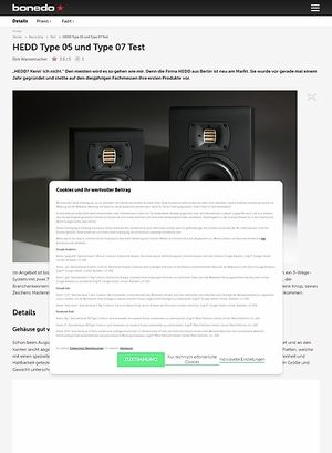 Bonedo.de HEDD Type 05 und Type 07