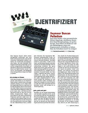 Gitarre & Bass Seymour Duncan Palladium, Djent-Zerrer