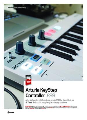 Future Music Arturia KeyStep Controller