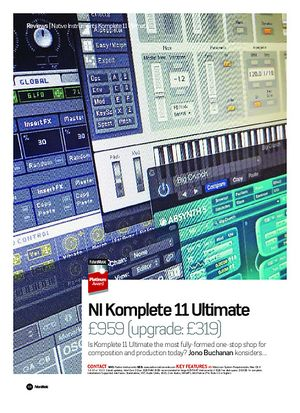 Future Music NI Komplete 11 Ultimate