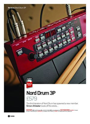 Future Music Nord Drum 3P