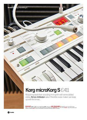 Future Music Korg microKorg S