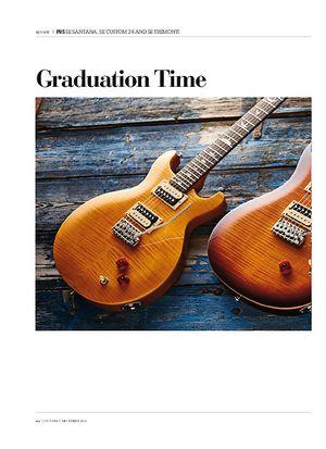 Guitarist PRS SE Santana