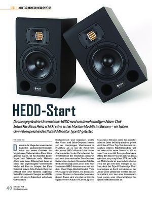 Professional Audio HEDD Type 07