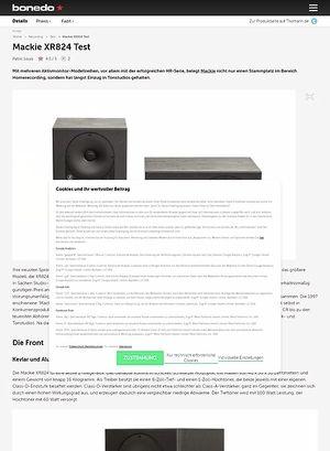Bonedo.de Mackie XR824