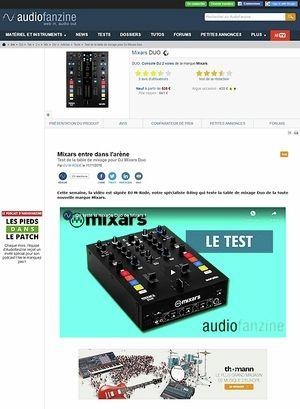 Audiofanzine.com Mixars DUO