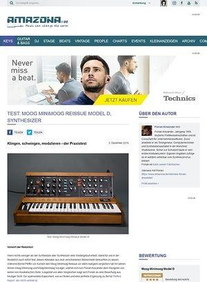 Amazona.de Moog Minimoog Reissue Model D