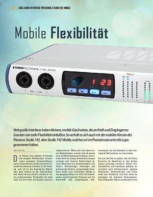 Professional Audio Presonus Studio 192 Mobile